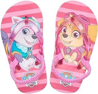 be9ff1ac6 Nickelodeon Paw Patrol Everest   Skye Toddler Girl Thong Flip Flop Sandals