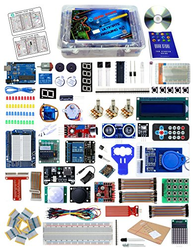 Quad Store(TM) - Ultimate Arduino Kit with UNO R3 (Professional Kit)