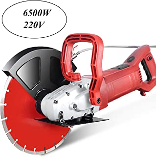 6500W Wall Groove Cutting Machine Multifunction Wall Chaser Machine for Brick & Granite Marble Concrete Cutter Notcher Groover Wall Slotting machine 220V Ship By DHL