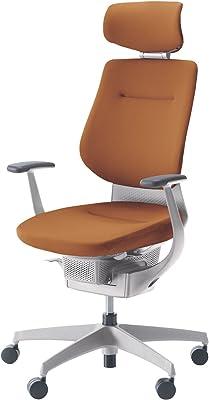 コクヨ イング イス ソフトテラコッタ クッションタイプ デスクチェア 事務椅子 座面が360°動く椅子 CR-GW3205E1G40T-WN 【ラクラク納品サービス】