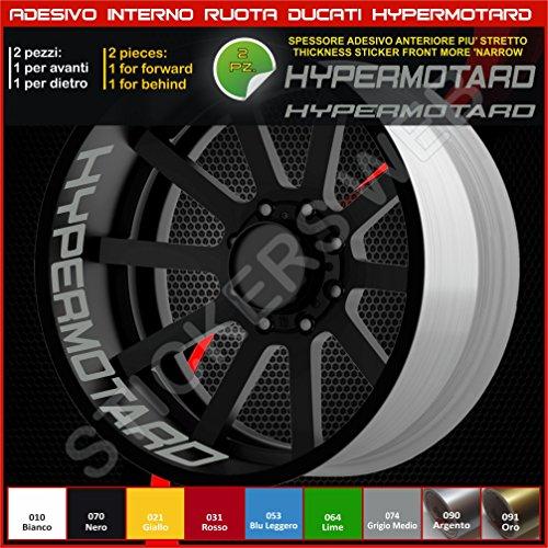 Bandes adhésives pour intérieur de roues pour Ducati Hypermotard, référence 0220 074 Grigio medio