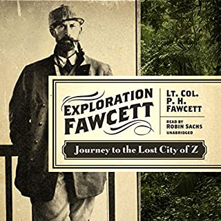 Exploration Fawcett audiobook cover art