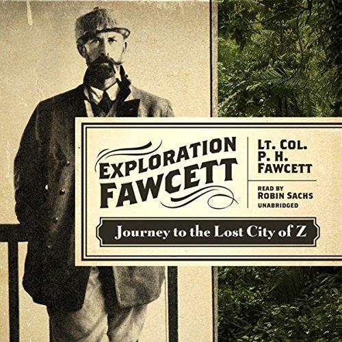 Exploration Fawcett audiobook cover art