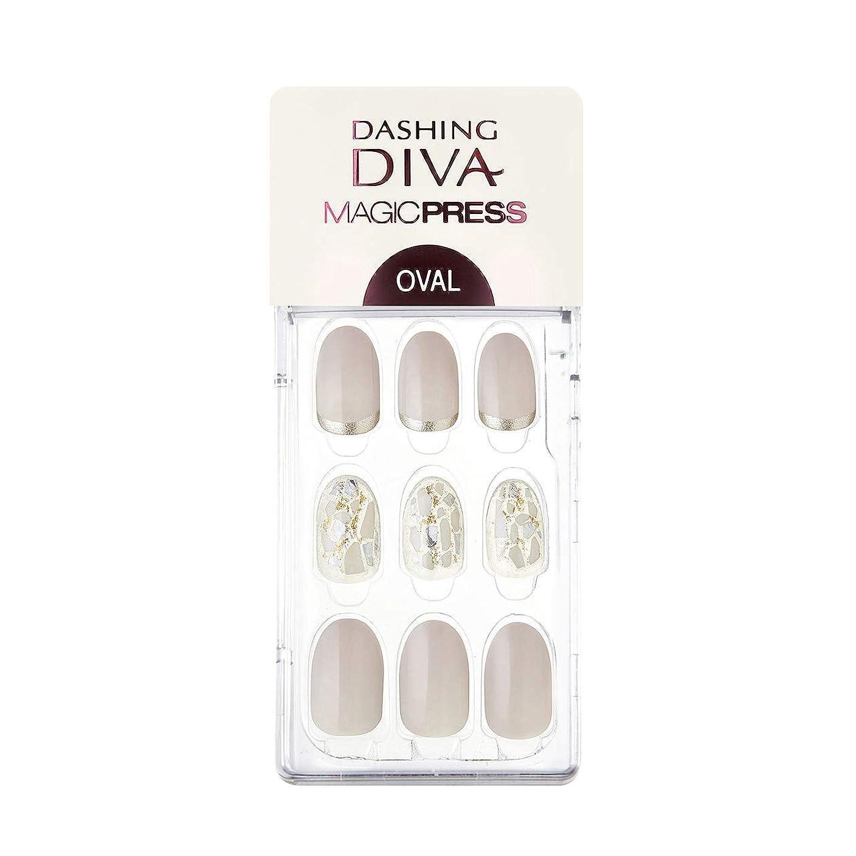 ダッシングディバ マジックプレス DASHING DIVA MagicPress MDR_313OV-DURY+ オリジナルジェル ネイルチップ Shiny Luster