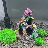 Smoothedo-Pets - Juego de decoración para acuario (15 cm de altura)