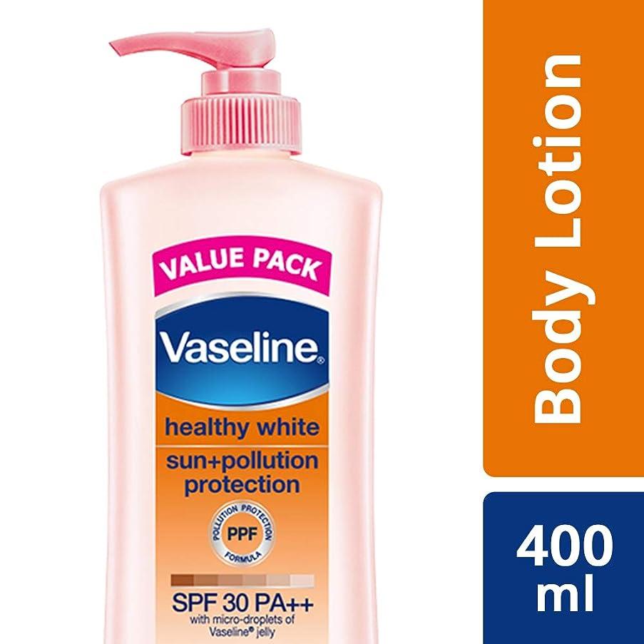 個人的に市区町村無しVaseline Healthy White Sun + Pollution Protection SPF 30 Body Lotion, 400 ml