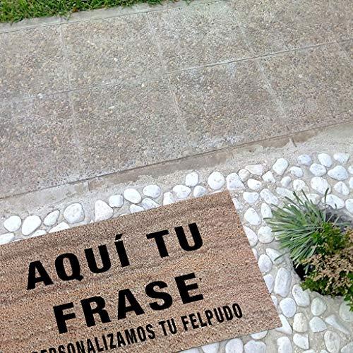 Tatamba Felpudo Personalizado con Frase - Felpudos Originales. Dinos La Frase y la Pondremos en un Felpudo. Regalos Personalizados. Felpudo Coco Entrada Casa