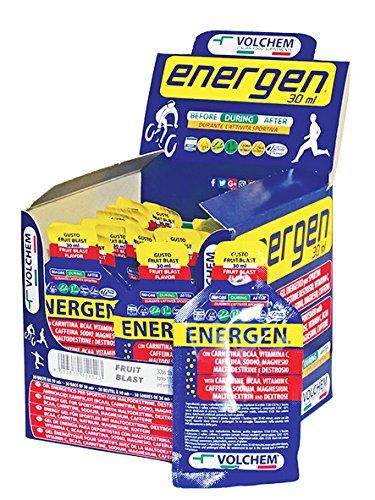 Energen 30 ml/Gel Energetico Liquido/Gusto Fruit Blast / 30 Buste da 30 ml