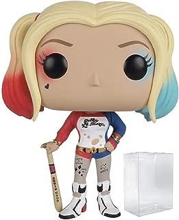 Funko Pop! Movies: DC Comics Suicide Squad - Harley Quinn Vinyl Figure (Includes Pop Box Protector Case)