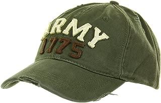 Cappello da Baseball militare stone washed Marines 1775 vintage USMC Fostex USA