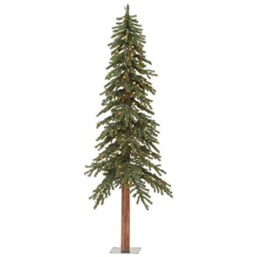 Pre Lit Alpine Christmas Trees Amazon Com