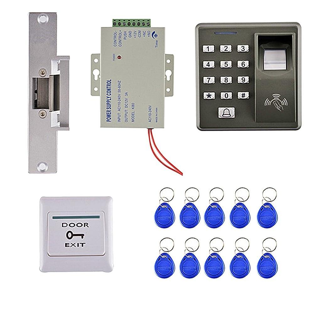 旅行傾向いっぱいKESOTO IDカードリーダー RFIDキーフォブ RFID IDタグ 指紋アクセス 電子ロック