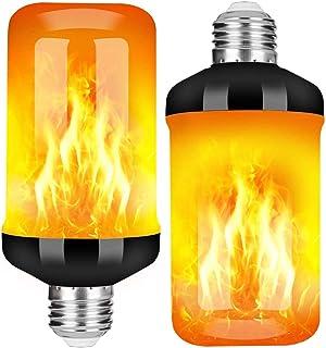 StillCool Vlam Gloeilamp, E27 Lamp Flikkerend Lichteffect 5W LED Buitenlicht Flikkerend Licht voor Huis Tuin Bar Feest Bru...