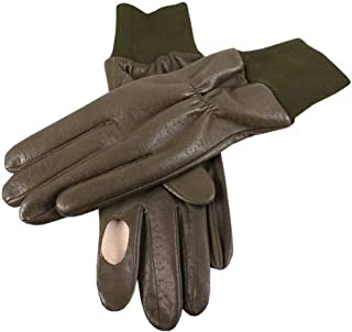 Dents Mens Regal Right Hand Shooting Gloves - Olive
