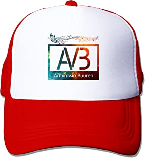 CYSKA Unisex-Adult Casual Caps DJ Armin Van Buuren Baseball Cap Hats Red