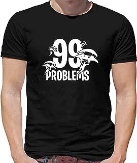 99 Problems - Mens Crewneck T-Shirt - 7 Colours