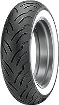Dunlop American Elite Whitewall Rear Tire (Wide Whitewall / MU85B16)