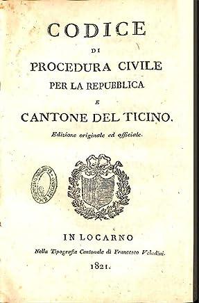 Codice di Procedura Civile per la Repubblica e Cantone del Ticino