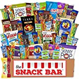 Healthy snack Care Package (52 count) A Gift crave Snack Box with a Variety of Healthy Snack Choices  Great for Office, College Military, Work, Students etc.
