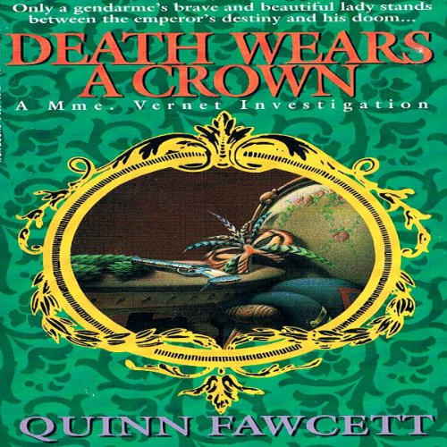 Death Wears a Crown audiobook cover art