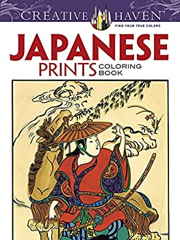 Creative Haven Japanese Prints Coloring Book  Creative Haven Coloring Books