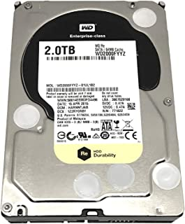 Western Digital HDD WD2000FYYZ Enterprise 2TB SATA 6Gb/s 7200rpm 64MB Cache Bare Drive Drive (WD2000FYYZ)