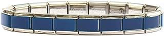 Blue Italian Charm Starter Bracelet