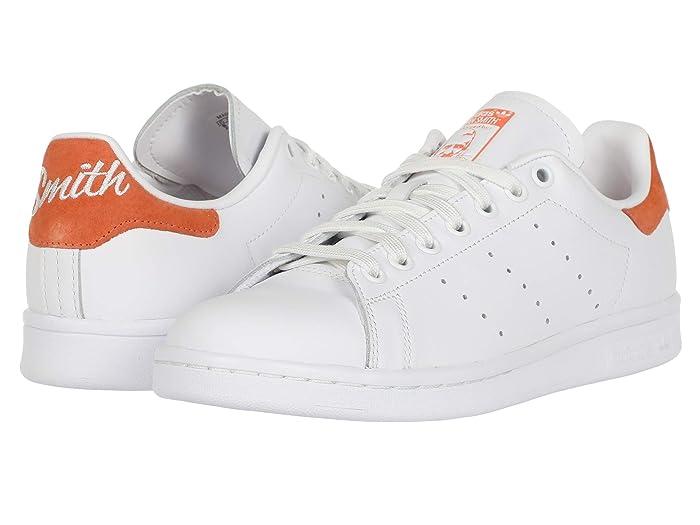 adidas Originals  Stan Smith (White/Semi Coral/White) Mens Shoes