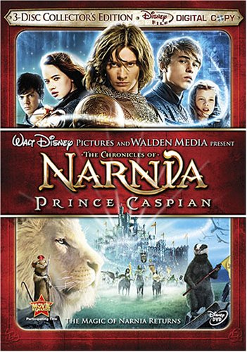 The Chronicles of Narnia: Prince Caspian (Three-Disc Collector's Edition + Digital Copy)