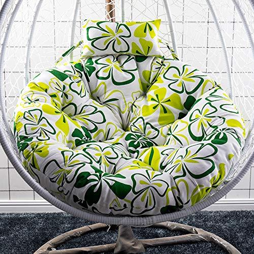 XinXiang Hammock Cushions - Cojín con reposacabezas para silla de jardín