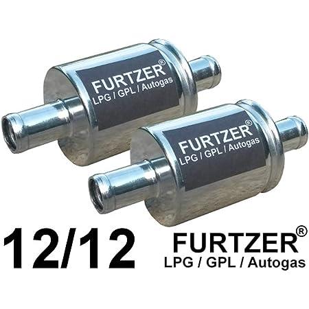 Furtzer Lpg Cng Gpl Autogas Filter 12 Mm 12 Mm Gasfilter 2 Stück By Auto