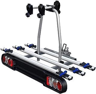 10-18 5 Portes Barres de Toit VDPKING1 Compatible avec Peugeot 508 Station Wagon // 508 RXH Lot de 3 Porte-v/élos Bike Pro