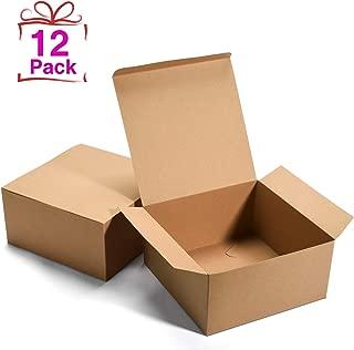 Best 4x4x2 kraft box Reviews