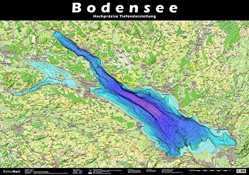 Bodensee Tiefenrelief: Hochpräzise Tiefendarstellung