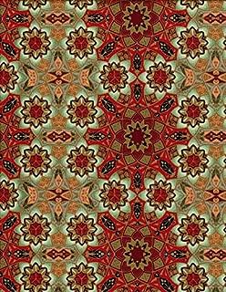 1 Yard Winter Solstice by Jason Yenter In the Beginning 100% Cotton Quilt Fabric Snowflake Mosaic JYA5 JYA3