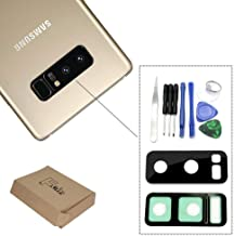 foir Rear Back Camera Lens Cover True Glass with Adhesive Sticker for Samsung Galaxy Note 8 N950U N950F