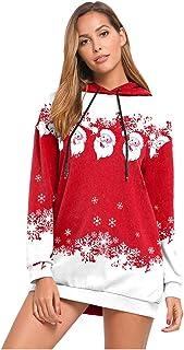 Bambino Outfit Natale Set, Bambini Bambine Natale Vestiti Costume Partito Abiti + Scialle + Cappello Vestito