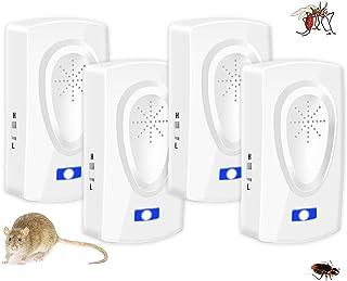 Repelente Ultrasónico Antimosquitos,Repelente mosquitos,Trampas para ratones Repelente ratones M...