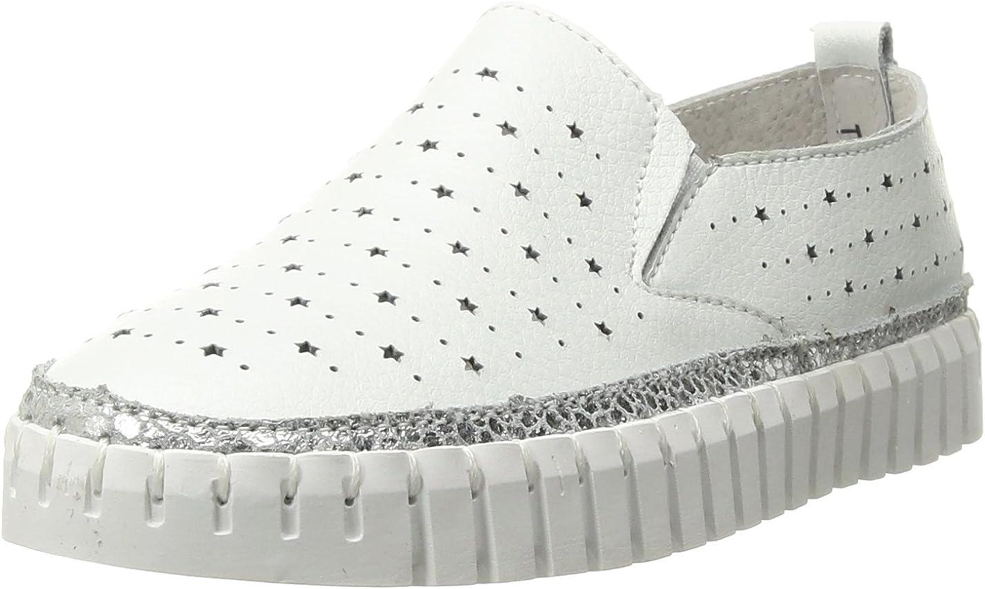 Bernie Mev Girl's TWK40 Sneaker, White, 28-35 M M EU Big Kid (33 US)