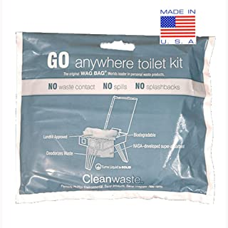 WAG Cleanwaste Portable Toilet Bags