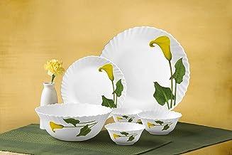 Laopala Dinner Set 20Pcs Amber Lily - ALCL20, Multi Color