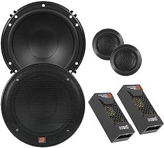 CERWIN VEGA XED650C 6.5-Inch 300 Watts Max 2-Way Component Speaker Set, Black