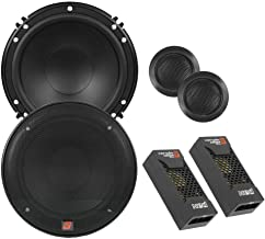 Best CERWIN VEGA XED650C 6.5-Inch 300 Watts Max 2-Way Component Speaker Set, Black Reviews