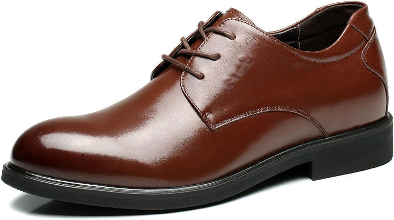 Chaussures Pour Hommes nouveau Affaires England Chaussures Habillées Hommes Chaussures AugHommestées Cuir Angleterre Lace First Layer Chaussures En Cuir