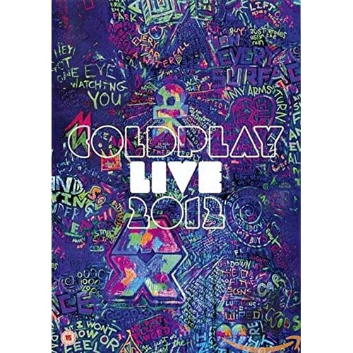 Coldplay Live 2012 [DVD+CD - DVD Case]