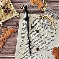Zxyan 万年筆 ペンアンティークディップペン斜め英語銅版スクリプトカリグラフィーペンホルダー書道ペンホルダー万年筆 高級筆記具 万年筆ギフト 贈り物