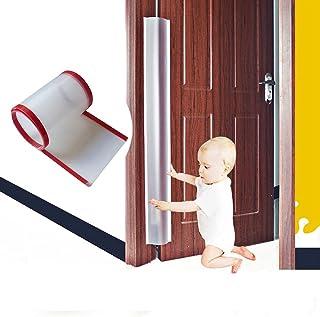 ドア指はさみ防止 安全 挟まれ防止 ドアストッパー 挟む ゆびはさみ防止 指ガード 開き扉 カバ- ドア用 ロングサイズ 巻き込み 赤ちゃん ベビー 子供 用 長さ120cm 安全対策 (17cm ×120cm)*2
