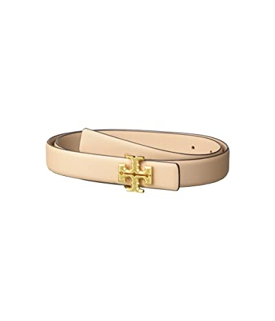 Tory Burch 1 Kira Logo Belt (Devon Sand/Gold) Women