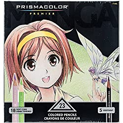 Prismacolor Premier Manga Colored Pencils