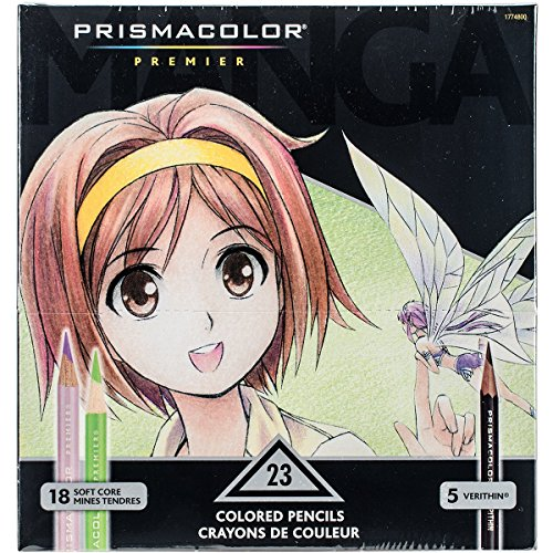 Prismacolor 1774800 Premier Colored Pencil - Manga Colours